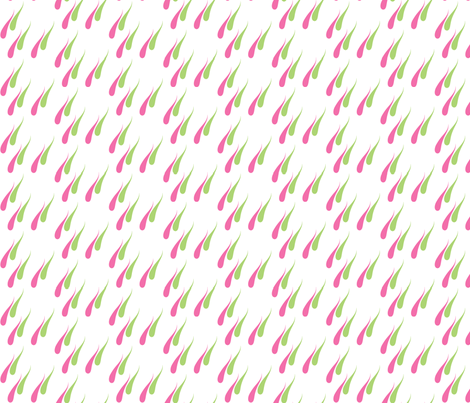 Spring rain fabric by delsie on Spoonflower - custom fabric