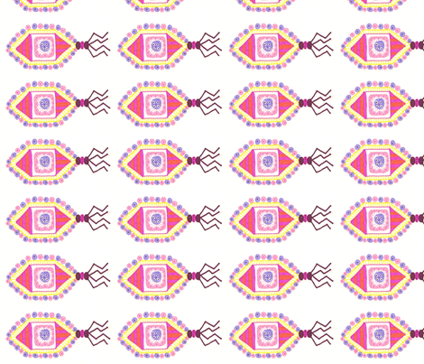 pinkvirusX fabric by jkayep2 on Spoonflower - custom fabric