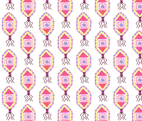 pinkvirusY fabric by jkayep2 on Spoonflower - custom fabric