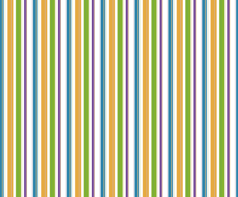 Baybeez Coordinating Stripes fabric by lulakiti on Spoonflower - custom fabric