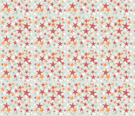 All Star ABC green  fabric by grammak on Spoonflower - custom fabric