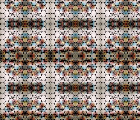 Rainbow Circles fabric by patternbase on Spoonflower - custom fabric