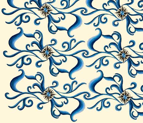 Lost at Sea fabric by Hazelhills on Spoonflower - custom fabric