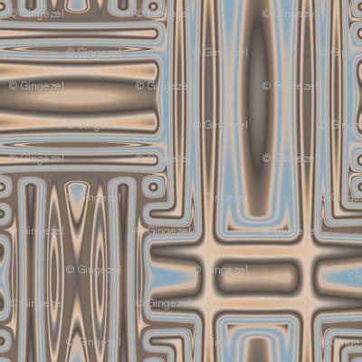 Ocean Villa Pool Geometric © 2010 Gingezel™ Inc.