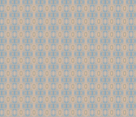 Ocean Villa Pool Pattern 1 © 2010 Gingezel™ Inc. fabric by gingezel on Spoonflower - custom fabric