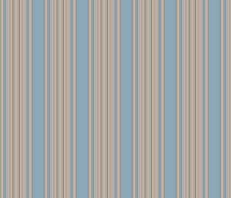 Ocean Villa Pool Stripe © 2010 Gingezel™ Inc. fabric by gingezel on Spoonflower - custom fabric