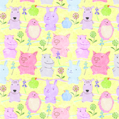 Cute Critters Yellow