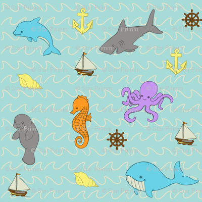 Sea Creatures Ahoy