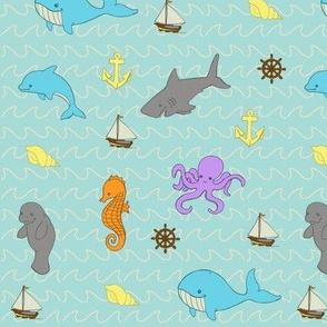 Sea Creatures Ahoy