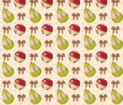 Fruit Tarts fabric by jillianmorris on Spoonflower - custom fabric