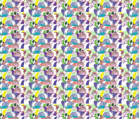 vintage_wingsalt2 fabric by dolphinandcondor on Spoonflower - custom fabric