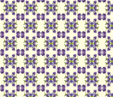 pansies_SPN_crop fabric by lindaedkinswyatt on Spoonflower - custom fabric