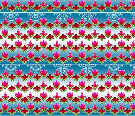 Flowers2 fabric by fuzzyskyfabric on Spoonflower - custom fabric