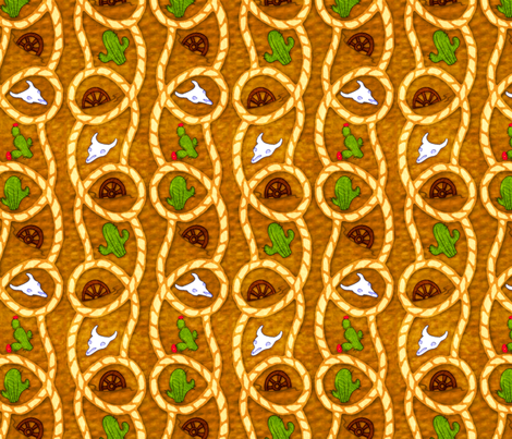 Wild West fabric by jadegordon on Spoonflower - custom fabric