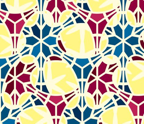 Neurons_v10 Cheater Quilt fabric by verminbury on Spoonflower - custom fabric