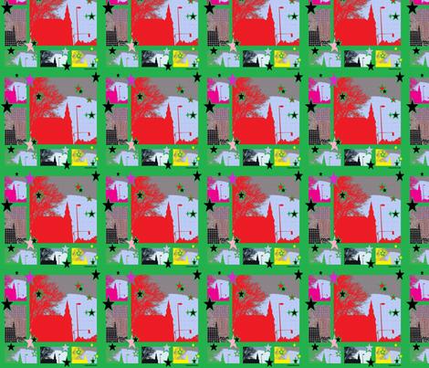 CHEATER_QUILT_ODENSE_STARSELIANAVDCRAATS fabric by _vandecraats on Spoonflower - custom fabric