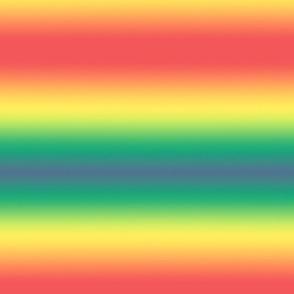 muted rainbow