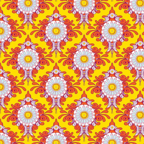 Daisy Scroll