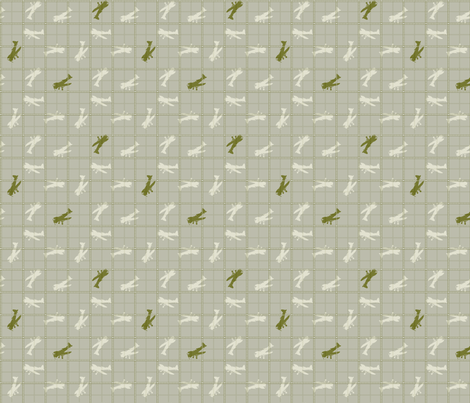 plane fabric by ces on Spoonflower - custom fabric