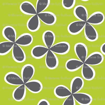 Flirty Floral Lime