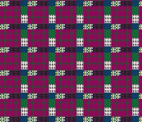 JamJax_Garden_Post fabric by jamjax on Spoonflower - custom fabric