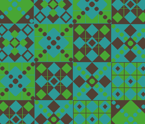 Leo's Quilt fabric by duchess on Spoonflower - custom fabric