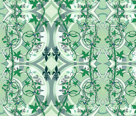 Grieving Mother's Garden's fabric by paragonstudios on Spoonflower - custom fabric