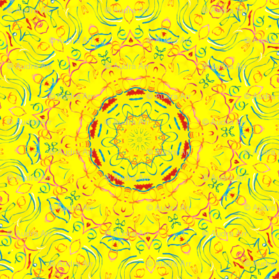 Yellow There Kaleidescope