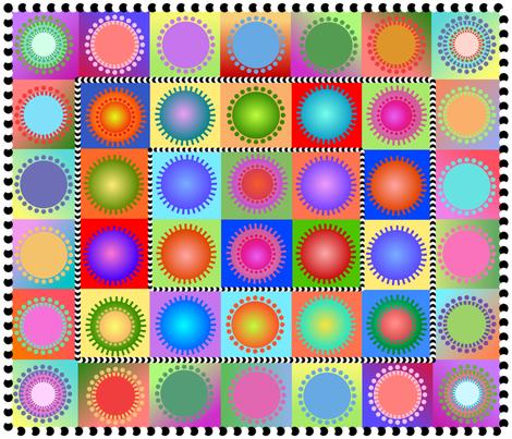 ahh, a bold and modern cheater fabric by vo_aka_virginiao on Spoonflower - custom fabric