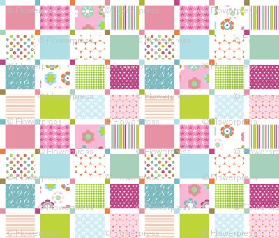 Bloom Cheater Quilt