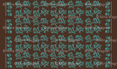 Batik-horses-linen54in-double-border