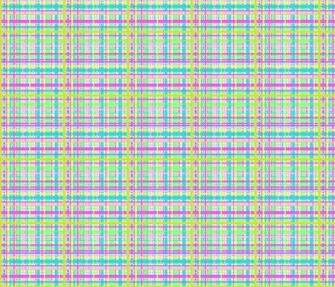 Amour Plaid fabric by rosannahope on Spoonflower - custom fabric