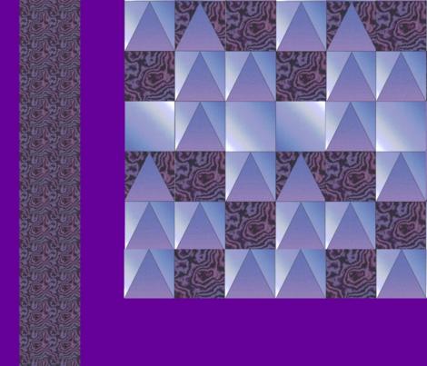 Leaf_Quilt-42x36 fabric by sue409 on Spoonflower - custom fabric