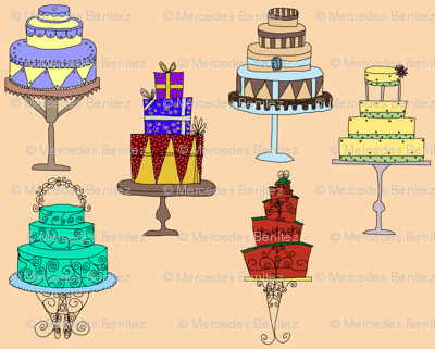 Wedding Cakes Graphic Designer And Writer