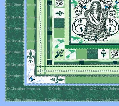Cheater quilt- Grieving Mothers Garden's