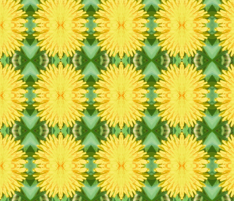 Dandilions fabric by frances_hollidayalford on Spoonflower - custom fabric