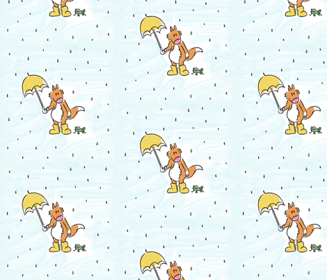 Rainy Day fabric by walnut-jelly on Spoonflower - custom fabric