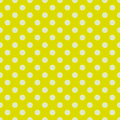 Yellow-Green with Light Blue Dots