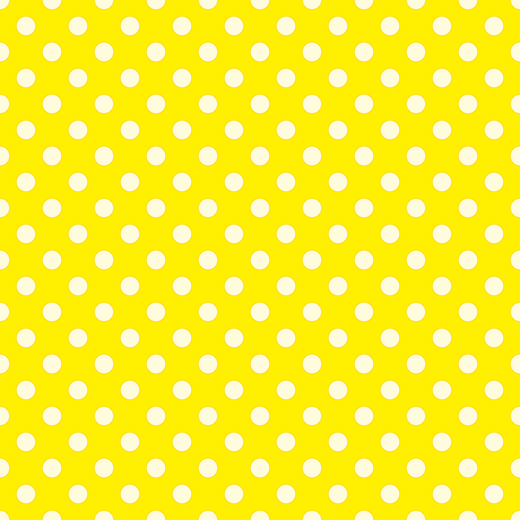 yellow with white dots giftwrap - anntuck - spoonflower
