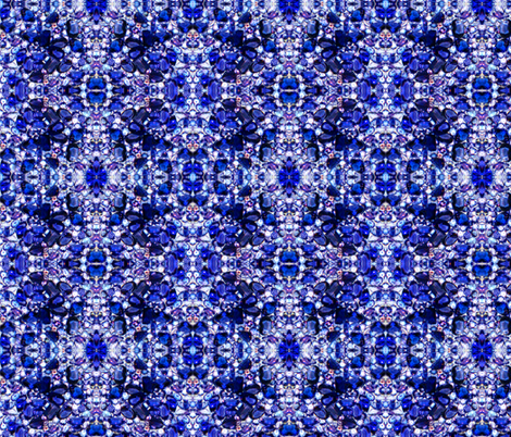 Tanzanite  fabric by paragonstudios on Spoonflower - custom fabric