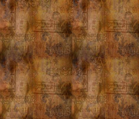 Bon_Voyage_150_dpi fabric by calla_lily on Spoonflower - custom fabric