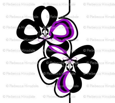 Orchid Hawaiian Quilt