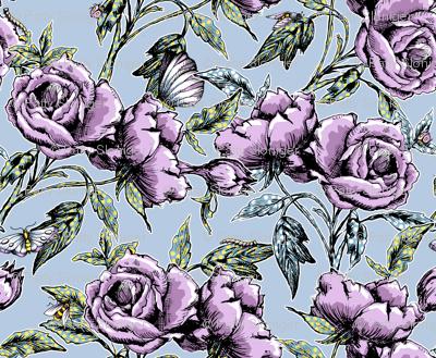 Summer Rose Garden