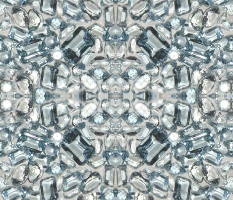 Huge Aqua  fabric by paragonstudios on Spoonflower - custom fabric