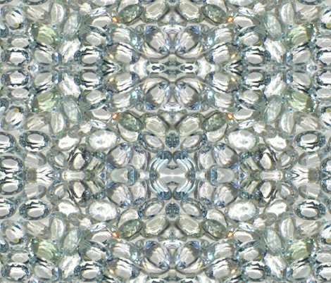 White Sapphires  fabric by paragonstudios on Spoonflower - custom fabric