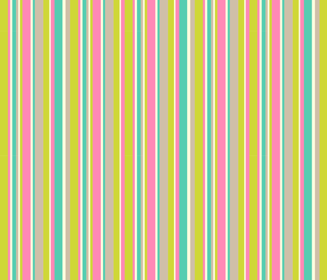 Complementary Stripe fabric by crimsonpear on Spoonflower - custom fabric