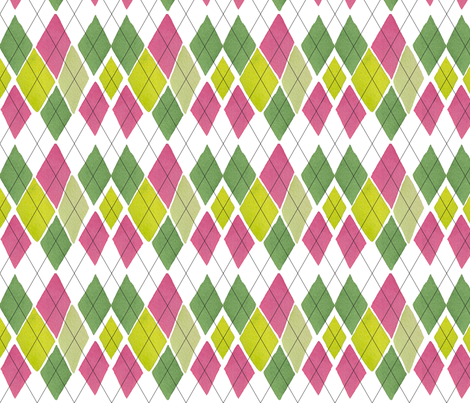C'EST LA VIV™ ARGYLE & DIAMOND Collection_ARGIRE fabric by cest_la_viv on Spoonflower - custom fabric