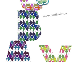 C'EST LA VIV™ ARGYLE & DIAMOND Collection_FRIDAY ARGYLE