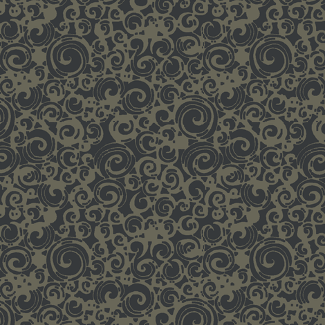 Are You a Hypnotist? (grey/moon) fabric by leighr on Spoonflower - custom fabric