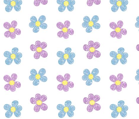 Bandana Flowers fabric by mandollyn on Spoonflower - custom fabric